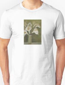 Moody Arum Calla's In A Vase T-Shirt