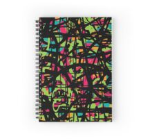 distorted reality Spiral Notebook