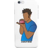 Tyler Durden: Oxygen gets you high. iPhone Case/Skin