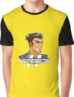 Handsome Jack Hyperion Logo from Borderlands 2 Graphic T-Shirt