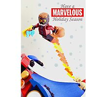 """Marvelous"" LEGO Holiday Card Collection Photographic Print"