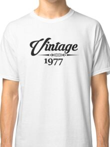 Vintage 1977 Classic T-Shirt