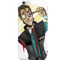 Rip him out iPhone Case/Skin