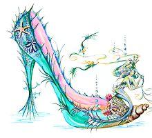 Mermaid Slipper by Sally King