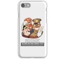 Be Sure You Have Correct Time -- WW2 Propaganda iPhone Case/Skin