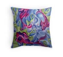 Tranquil Trio Throw Pillow