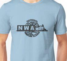 NWA logo variation 2 Unisex T-Shirt