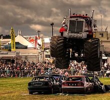 Monster Truck Destruction  by Rob Hawkins