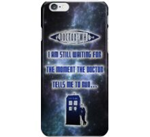 Ruuuuuuuuuuuuuun! Doctor Who  iPhone Case/Skin