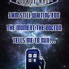 Ruuuuuuuuuuuuuun! Doctor Who  by Gal Lo Leggio
