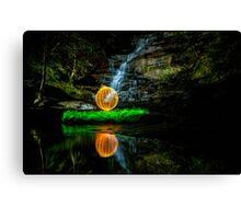 Somersby Falls - having a ball Canvas Print