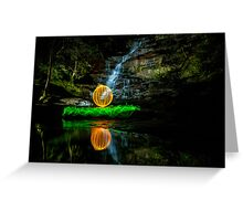 Somersby Falls - having a ball Greeting Card