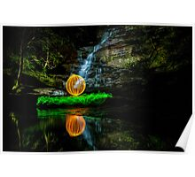 Somersby Falls - having a ball Poster