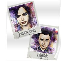 Jessica Jones and Kilgrave Poster