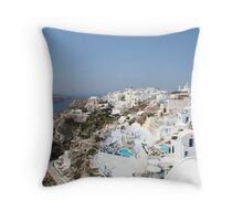 Oia, Santorini. Throw Pillow
