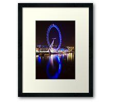 London Eye Reflection Framed Print