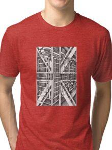 Black and White icon. Tri-blend T-Shirt