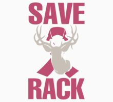 Save The Rack - Breast Cancer Tshirt by trendyshirt
