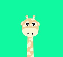 Cute giraffe by ilovecotton