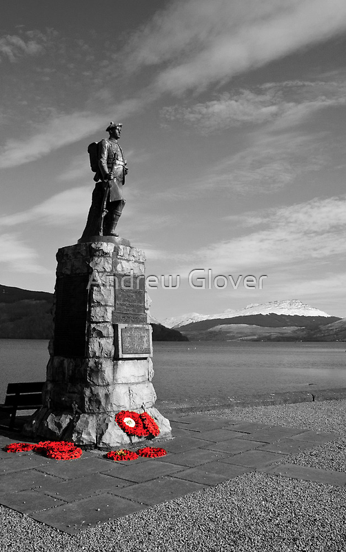 Least we forget by Andrew Glover