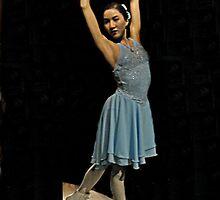 Michelle Kwan Wax Figure, Madame Tussauds NYC by Jane Neill-Hancock