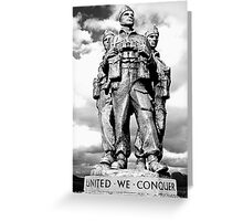 Royal Marine Commando Greeting Card