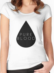 Pure Blood Women's Fitted Scoop T-Shirt
