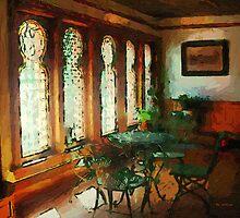 Afternoon at Café des Vignes by RC deWinter