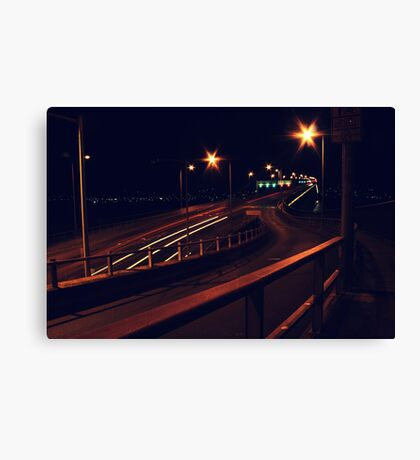 In a rush Canvas Print