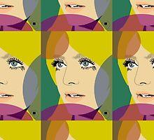 Goldie Hawn by Vanessa Herrador