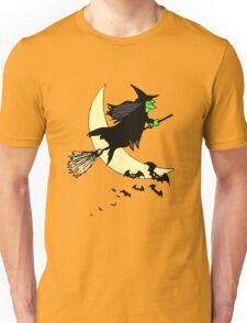Away on a Broom Unisex T-Shirt