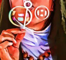The Nun's Bubbles Sticker