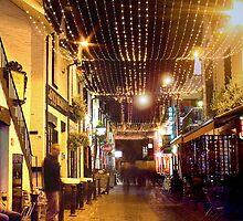 Ashton Lane, Glasgow by Andrew Glover
