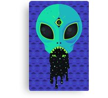 Alien Flu Canvas Print