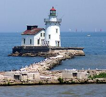 Cleveland West Breakwater Lighthouse by Jack Ryan