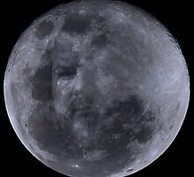 Man in the moon by Nigel Donald