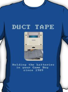 Duct Taped Game Boy T-Shirt