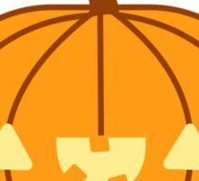 Halloween Adorable Kawaii Pumpkins and Bats Sticker