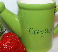 Strawberry Oregano by aprilann