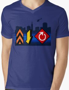 Up, Down, & All Around - Speed Highway Mens V-Neck T-Shirt