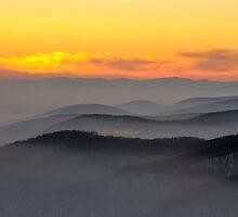 Evening fog by Cristim