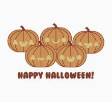 Halloween Adorable Kawaii Pumpkins Kids Clothes