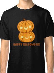 Halloween Adorable Kawaii Pumpkins Classic T-Shirt