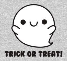 Halloween Adorable Kawaii Ghosts  One Piece - Long Sleeve