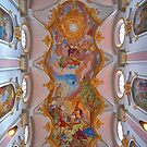 Frescoes on the Ceiling of St.Peters Church. (view larger) by Lee d'Entremont