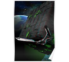 Star Trek - First Contact Borg Cube 3D Anaglyph Poster