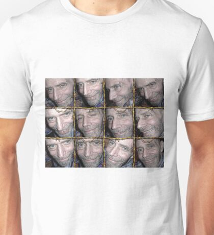 Barbwire Smiles Unisex T-Shirt