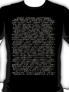 The Standard Model - A Love Poem T-Shirt