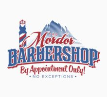 Mordor Barbershop Kids Tee