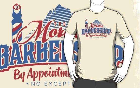 Mordor Barbershop by BiggStankDogg